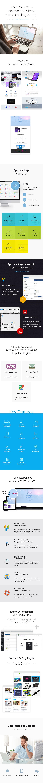 App Landing Page WordPress - 1
