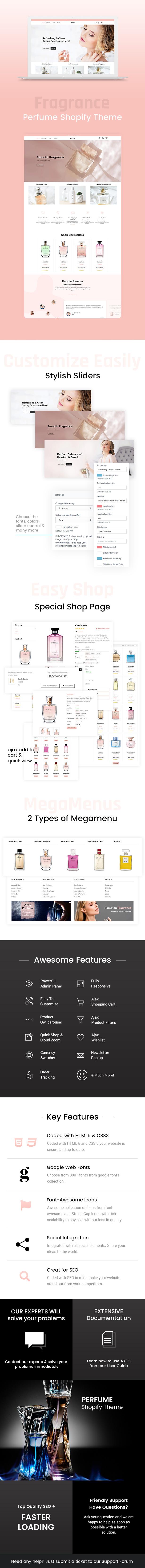 Axeo - Perfume, Cosmetics Store Shopify Theme - 1