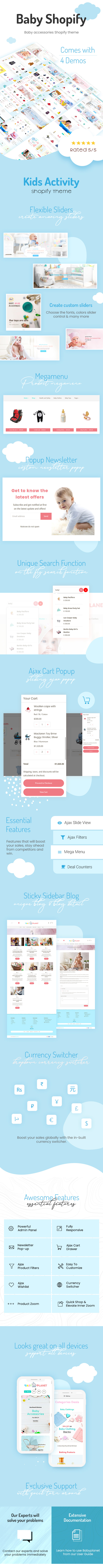 Baby Planet | Babies Store Shopify Theme - 1