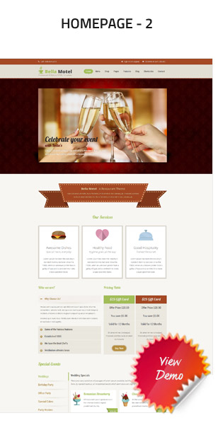 BellaMotel - Food, Restaurant Recipe HTML - 4