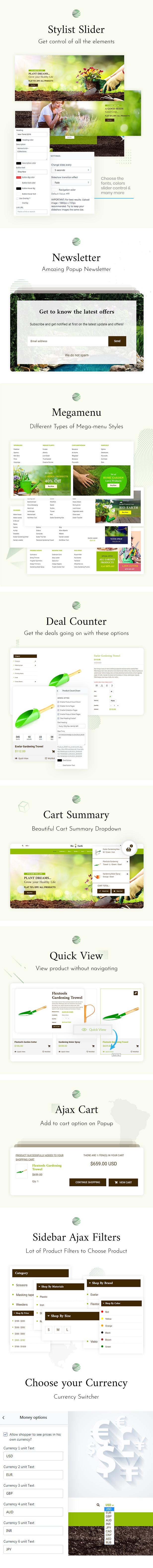 Bio Earth - Landscaping & Gardening Service Shopify Theme - 2