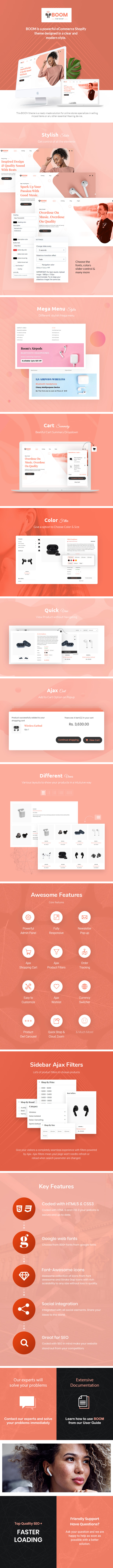 Boom - One Product Electronics Shopify Theme - 7