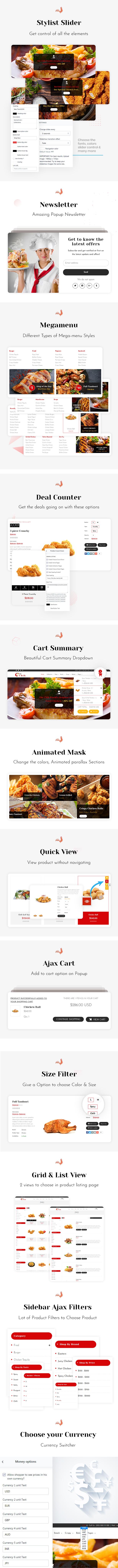 Chik | Chicken Restaurant Shopify Theme - 2