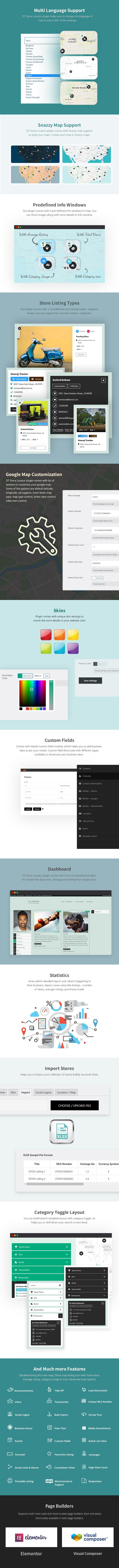 DT - Plug-in WordPress do localizador de lojas - 3