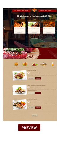 Food & Beverage Company One Page HTML - 7