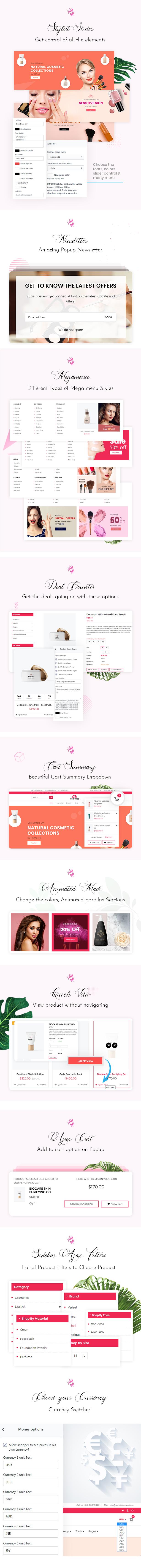 HerPride - Beauty Center, Cosmetic Shop Shopiy Theme - 2