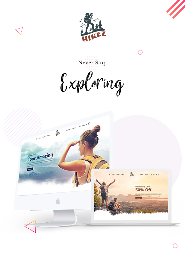 Hikez | Trekking & Hiking Shopify Theme - 2