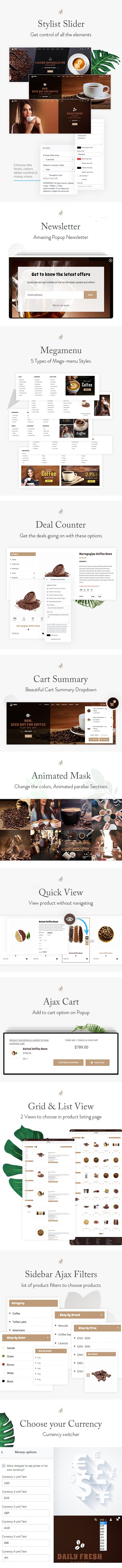 LaCafe - Coffee Shopify Theme - 2