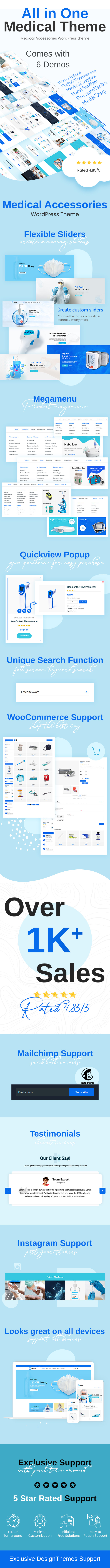Medik - Medical WooCommerce Theme - 1