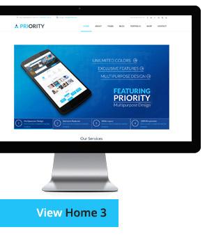 Priority | Multipurpose HTML - 15
