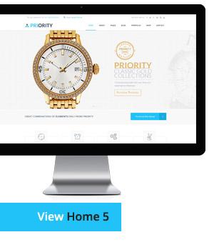 Priority | Multipurpose HTML - 17