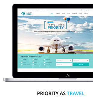 Priority | Multipurpose HTML5 Template