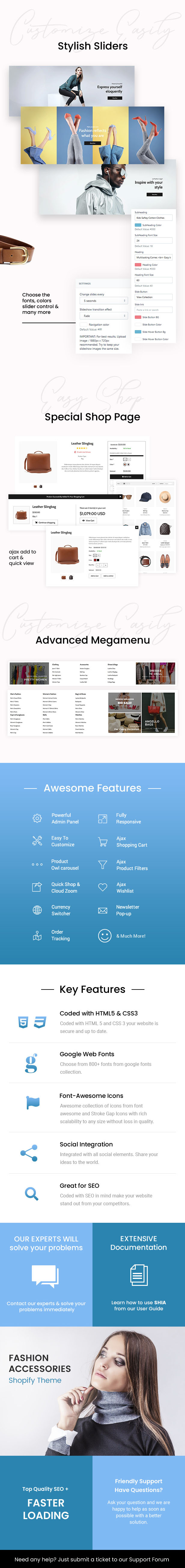 Shia - Modern, Simple Shopify Theme - 1