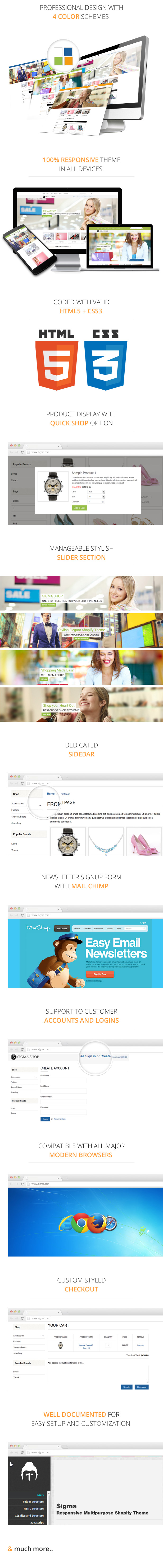 Sigma | Responsive Multipurpose Shopify Theme