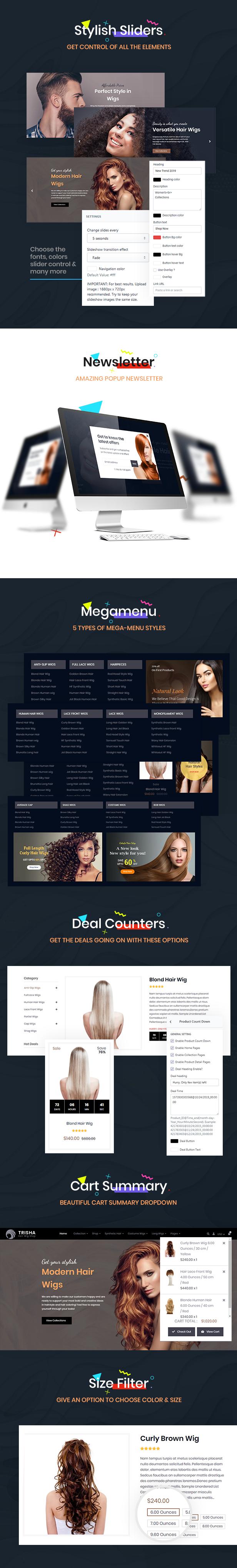 Trisha | Hair Weave Shopify Theme - 4