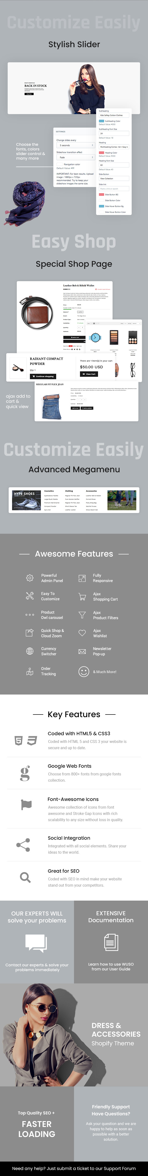 Wuso - Fashion Responsive Shopify Theme - 1