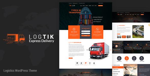 Logtik | Logistics PSD - 2