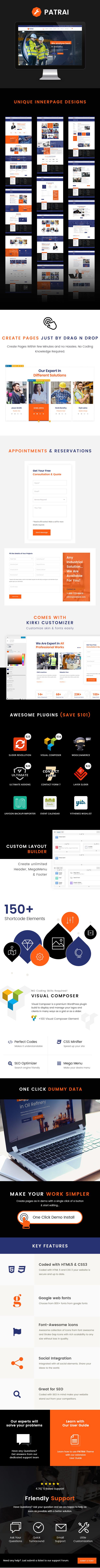 Patrai | Industry WordPress Theme - 2
